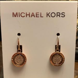 Michael Kors NWT Flip glitz earrings